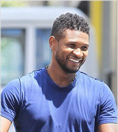 Simple Short Hairstyles for Usher
