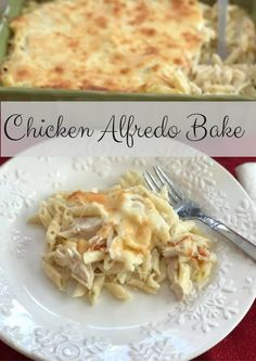 Chicken Alfredo Bake + Enter To Win A Trip To Napa Valley #StellaCheeses  #QualitySince1923