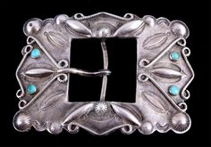 silver mayan numbered belt buckle set | Western•Military•Firearms•Mounts•Furniture•Signs