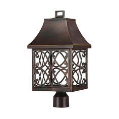 1 Light Outdoor Post Lantern/Dark Sky