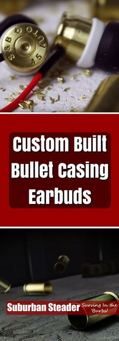 Need a cool gift? Want to improve your DIY skills in the process? Why not try making these Custom Made Bullet Casing Earbuds? Give it a shot today!