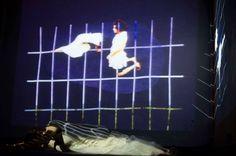 MEMORIA - CUERPO - IMAGÉN / Festival Internacional de VIDEODANZABA / Centro Cultural España Córdoba  Diseño de video instalación y visuales para performance.