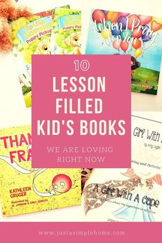 17 Proven Methods Children's Books We are Loving Right Now - all these kid's books teach important lessons too! A Step-By-Step Guide To Effectively Teach Your Child How. Best Children Books, Toddler Books, Books For Teens, Childrens Books, Great Books To Read, Good Books, Preschool Books, Activities For Kids, We Are Love