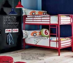 Mini home El Corte Inglés dormitorio infantil con literas #Home #Deco