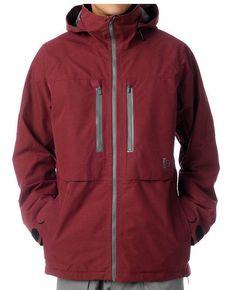 Burton AK 2L Stagger Jacket Mens Gore-Tex Waterproof Snowboard Ski Crimson S