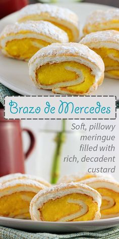 A traditional Filipino dessert of decadent custard enveloped in melt-in-your mouth meringue.