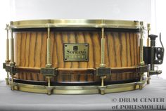 Le Soprano Prima Zebrawood Snare Drum 6x14 Hear how it sounds! http://youtu.be/-CO0Z4fXvWI Available for purchase here! http://www.drumcenternh.com/le-soprano-zebrano-snare-drum-6-5x14.html