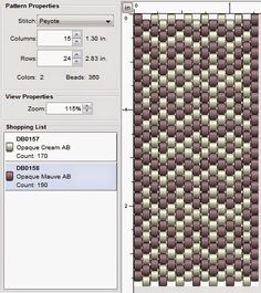 Hello everyone, I hope you'll have fun trying out this week's beading pattern :) Basic pattern Colour version 1 Co. Peyote Stitch Patterns, Beading Patterns Free, Beaded Jewelry Patterns, Beading Tutorials, Bead Patterns, Blackwork Patterns, Checkerboard Pattern, Peyote Beading, Chokers