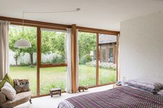 This exceptional example of a single-storey, architect-designed house was designed by Professor Matthew Aitken Clark, OBE for himself and his family in 1979. It sits on a ¼ acre plot (approx.) in a beautiful village setting backing onto open countryside in Stapleford, just four miles south of the city of Cambridge. Accommodation includes three double […]