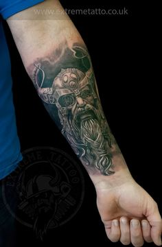 Viking tattoo, done at Extreme Tattoo&Piercing Inverness,Highland, Scotland by Catalin Gal. At our studio,you can get all kind of tattoos and piercings, like Realistic, Black and grey tattoo,Japanese tattoo,Traditional, Floral,Chinese tattoo,Fine line art tattoo, Old school tattoo,Maori tattoo, Religious tattoo, Pin-up tattoo, Celtic tattoo, New school tattoo,Oriental tattoo, Biomechanical tattoo and lots of other designs .For bookings,email studio@tattooscotland.co.uk!