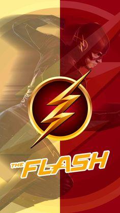 Gold-Red FLASH phone cover Flash Wallpaper, Marvel Wallpaper, Iphone Wallpaper, Flash Superhero, Flash Drawing, Flash Tv Series, Amoled Wallpapers, Cuadros Star Wars, Hero Logo