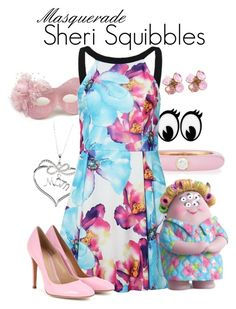 """""""Masquerade: Sheri Squibbles"""" by jivy44 ❤ liked on Polyvore featuring Savvy Cie, Adolfo Courrier, Masquerade, INC International Concepts, Chanel and Gianvito Rossi"""