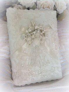 Bridal Accessories Ring Pillow Flower Girl Basket Guest Book Rose Pen Wedding Photo Album Personalized Wedding Bridal Hankie