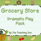 Grocery Store Dramatic Play Pack  This pack contains everything you will need to set up a dramatic play grocery store in your classroom!  Included ...