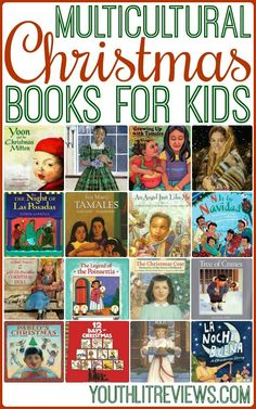This list of 20 multicultural Christmas books for children will give readers a glimpse of the many different ways that families celebrate the season! Christmas Books For Kids, Childrens Christmas, Christmas Activities, Family Christmas, Christmas Traditions, Christmas Trees, Christmas Gifts, Best Children Books, Books For Boys