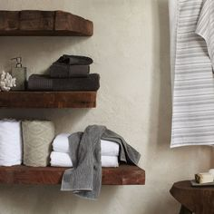 I love these shelves.