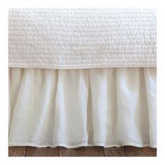 Found it at Joss & Main - Armando Linen Voile Bed Skirt