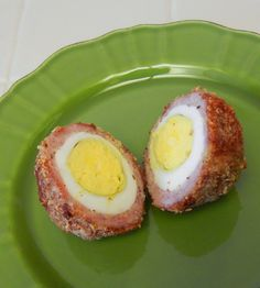 Baked Scotch Eggs Recipe - Low Carb Protein Packed Weight Loss Bariatric Surgery Friendly Food