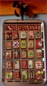 MatchBoxes can be covered with craft or scrapbook paper and made into advent calendars or little jewelry storage