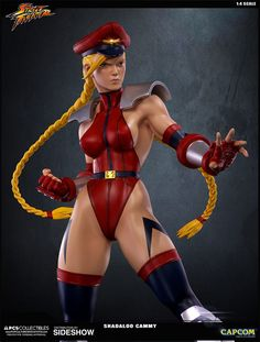 Street Fighter Shadaloo Cammy Statue by Pop Culture Shock | Sideshow Collectibles