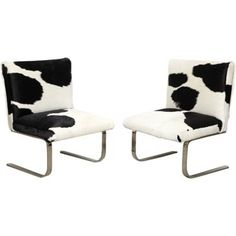 Check out this item at One Kings Lane! Side Chairs by Gary Gutterman, Pair
