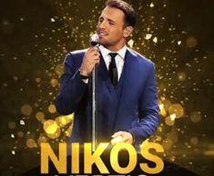 See Agrinio: Best Male Greek Singer, Nikos Vertis, Shares Music. Greek Men, Visit Greece, Greek Music, Greece Travel, Music Songs, Singer, Beach, Movie Posters, Life