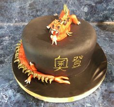 Dragon Cake - Turtle Mom Treats