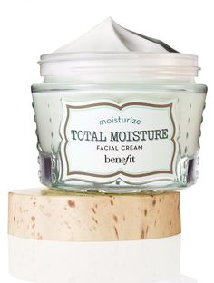 Benefit's Total Moisture Facial Cream is a concentrated cream best for normal/dry skin. It leaves skin hydrated and radiant.