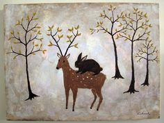 Bunny Deer / Rebecca Rebouché