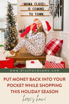 The best way to save money this holiday season while getting your Christmas shopping all done! Learn how to put money back into your pocket while shopping this holiday season, who doesn't love saving money? #budgetshopping #savemoney #onlineshopping #savingmoney #christmasshopping