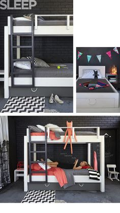 Love these bunks from House of Orange