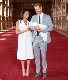 Royal baby: Prince Harry and Meghan Markle name newborn son Archie Meghan Markle, Prince Harry Et Meghan, Harry And Meghan, Prince Henry, Prince Philip, Prince William, Duchess Of Cornwall, Duchess Of Cambridge, Lady Diana