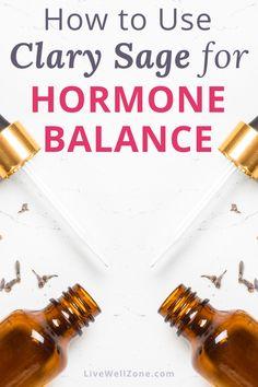Not sure how to use clary sage oil for hormone balance? Learn how clary sage helps with period cramps, menopause, thinning hair and much more! Essential Oils For Fertility, Essential Oils Uses Chart, Doterra Essential Oils, Young Living Essential Oils, Essential Oil Blends, Essential Oil Hormone Balance, Essential Oils For Pain, Cortisol, Easential Oils