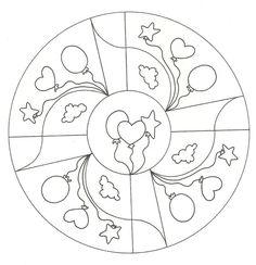 mandalas para pintar (3) Coloring Sheets, Adult Coloring, Coloring Books, Coloring Pages, Stained Glass Flowers, Stained Glass Patterns, Doodles Zentangles, Yoga For Kids, Mandala Art