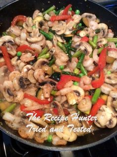 TRH Es's Prawn and Veggie Stirfry