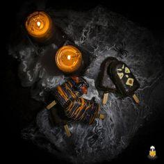 Halloween Kuchen am Stiel: Idee für die Halloween Party | BACKINA