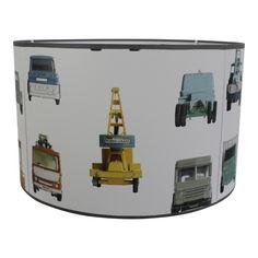 Lamp Werkauto behang studio Ditte