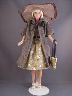 Autumn Storm. €6. Zelfgemaakte Barbie kleding te koop via Marktplaats bij de advertenties van Nala fashion. Homemade Barbie doll clothes (OOAK) for sale through Marktplaats.nl Verkocht/Sold