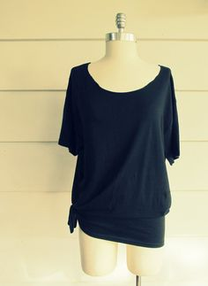 Wobisobi:   No Sew, cut back Tee-Shirt DIY #4 Liera