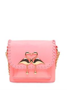 "SOPHIA WEBSTER - BOLSO ""CLAUDIE FLAMINGO"" DE PIEL - ROSA"
