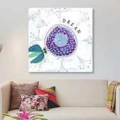 East Urban Home 'Dream' Painting Print on Canvas Size: