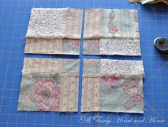 Disappearing 9 Patch Quilt Block Tutorial! - All Things Heart and Home