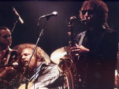 Dylan on sax?