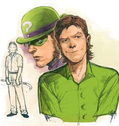 The riddler design I think from zero year