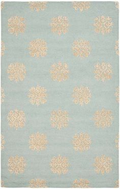 SOH213B               Collection:    Soho        Color:    Light Blue / Beige