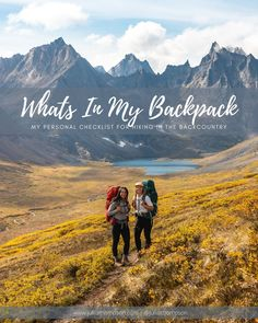 Backpacking Gear Guide — JULIA THOMPSON Backpacking Checklist, Backpacking Gear, What's In My Backpack, Day Hike, Cheap Travel, Travel Essentials, Camping, Explore