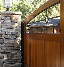 Builders of Custom Garden Gates, Wood Driveway Gates, Cedar Fencing and Gate Hardware Home Fencing, Stairs And Doors, Wooden Gates, Wooden Fences, Trellis Fence, Custom Gates, Building A Fence, Front Gates, Farm Fence
