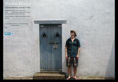 Mantas Balcius' page on about.me – http://about.me/mantasbalcius