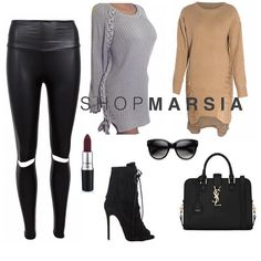 Check out our knitted sweater collection and Aaliyah liquid leggings  #shopmarsia  Shopmarsia.com  #ootd #ootn #shopping #style #trending #streetstyle #glam #sexy #igfashion #fashion #fashionista #fashionblogger  #fashiondiaries  #fashionaddict #fashionpost #dresses #love #instagood #like #cute #photooftheday #girl #beautiful #nice #look #aboutalook #hudabeauty