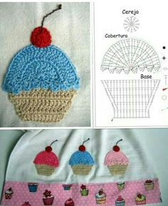 Muffin Capcuke crochet